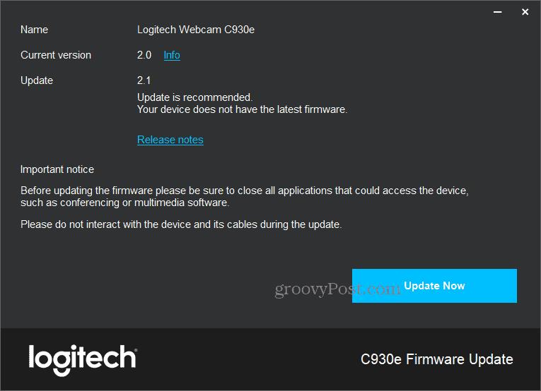 update-logitech-webcam-firmware