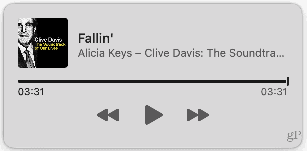 Music Control on Mac