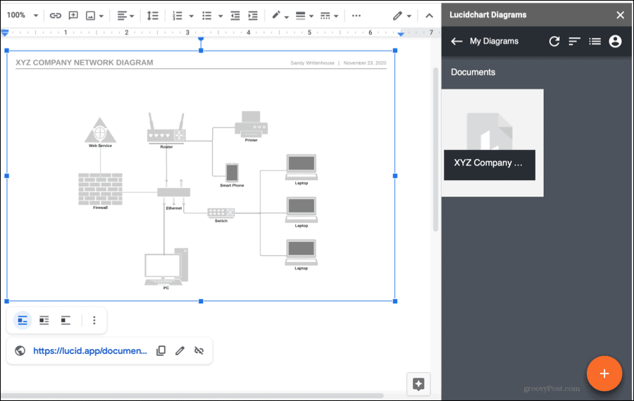 Use Lucidchart Diagrams