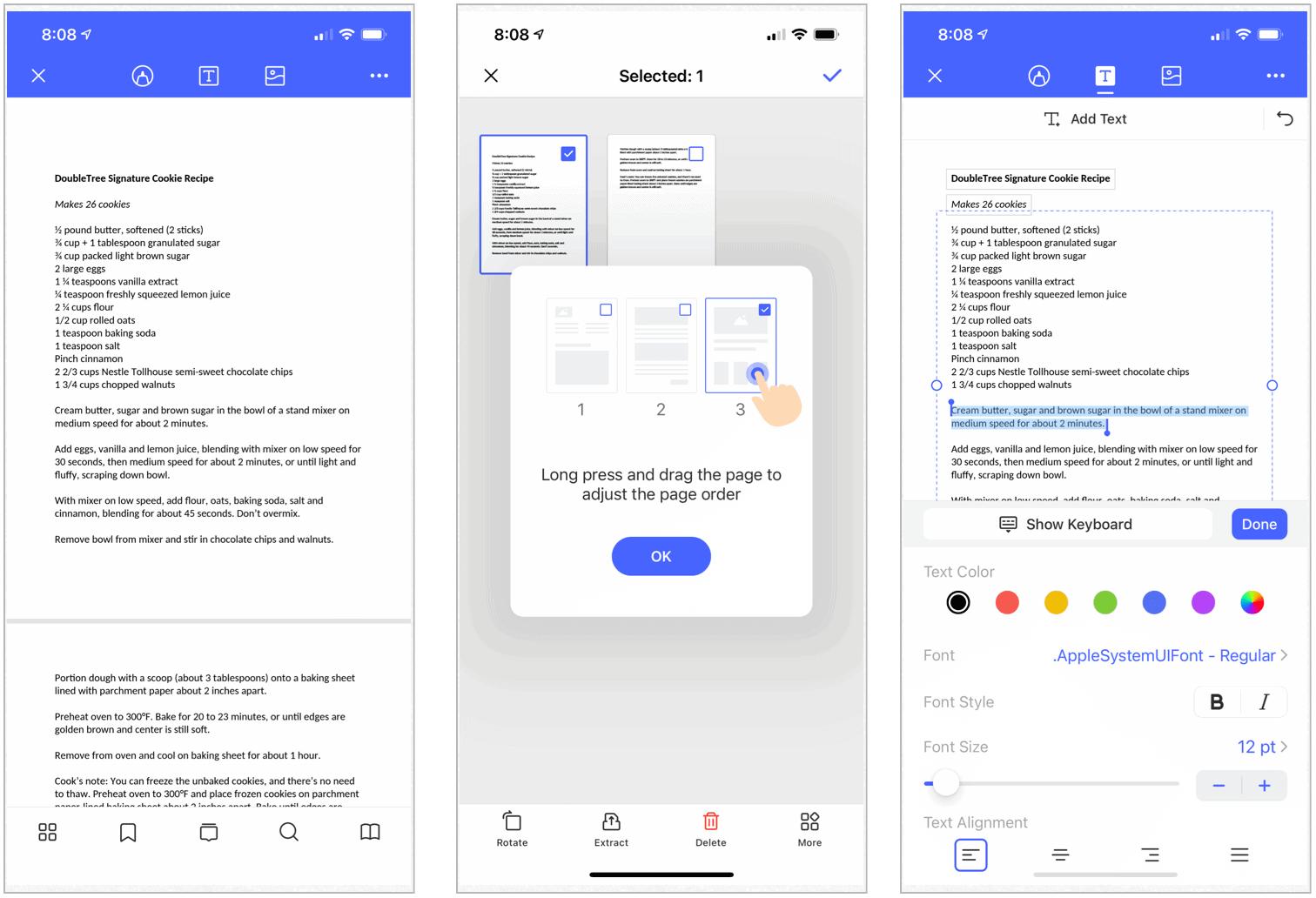 PDFexpert Pro on iPhone