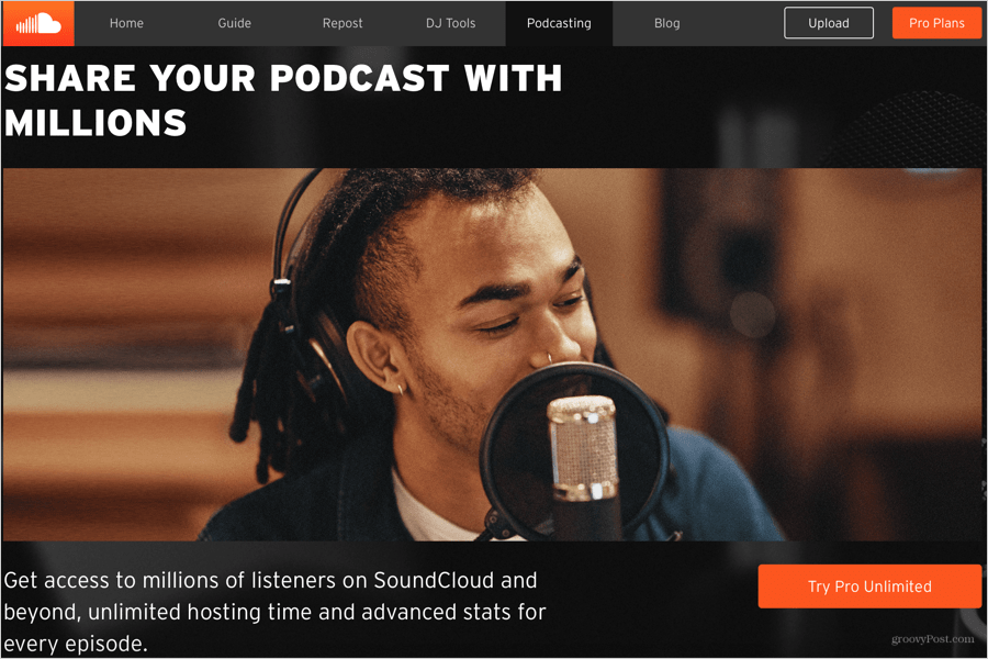 Share Your Podcast