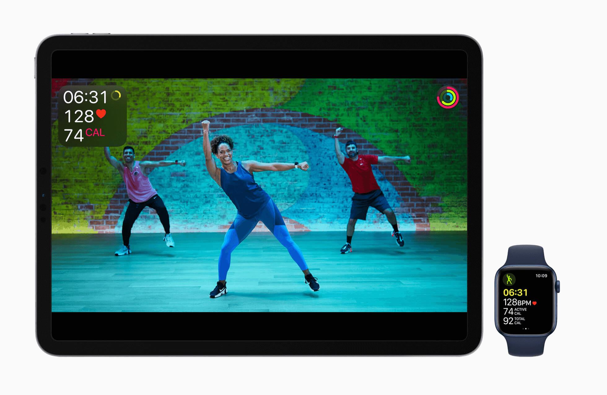 Apple Fitness on iPad