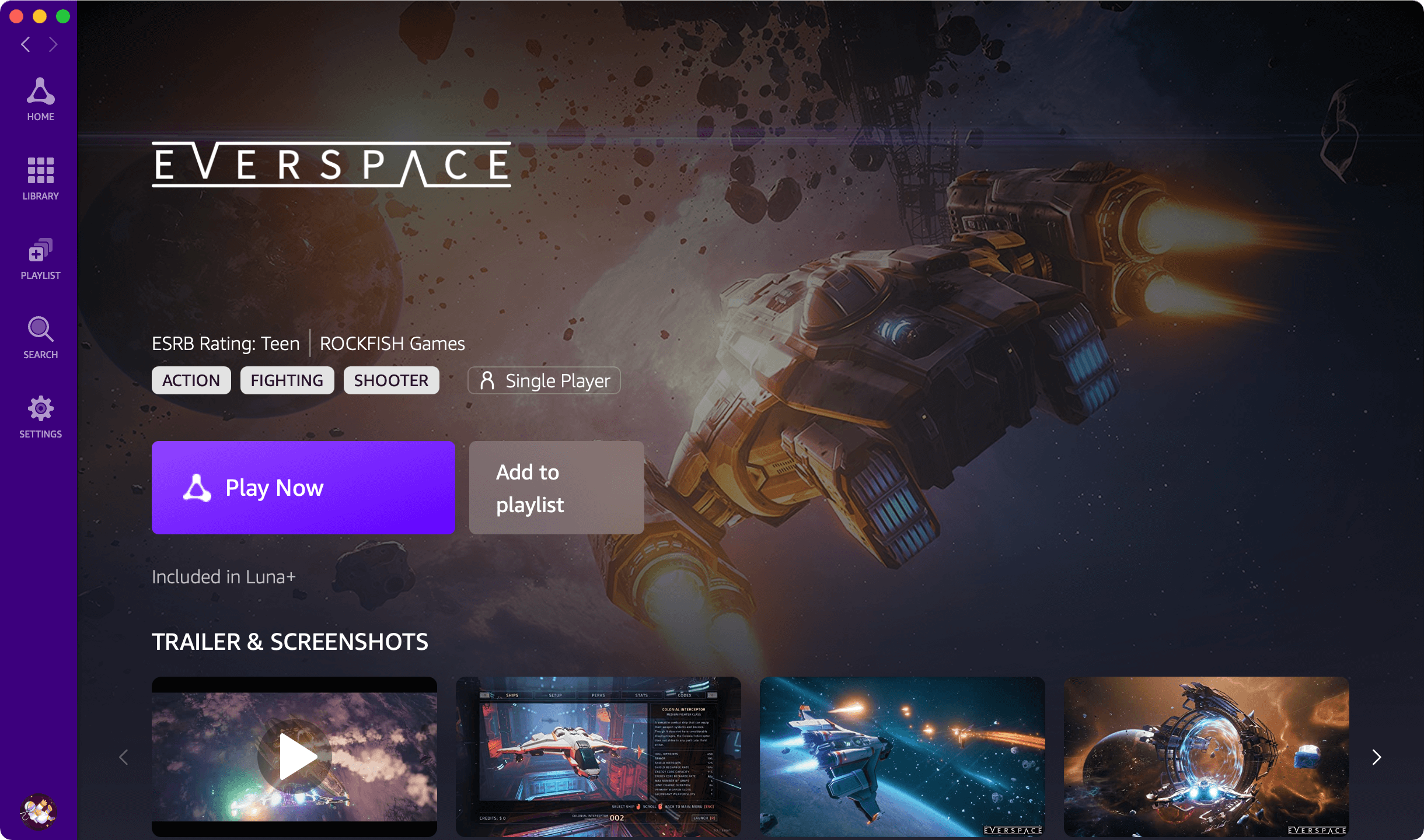 Everspace on Mac