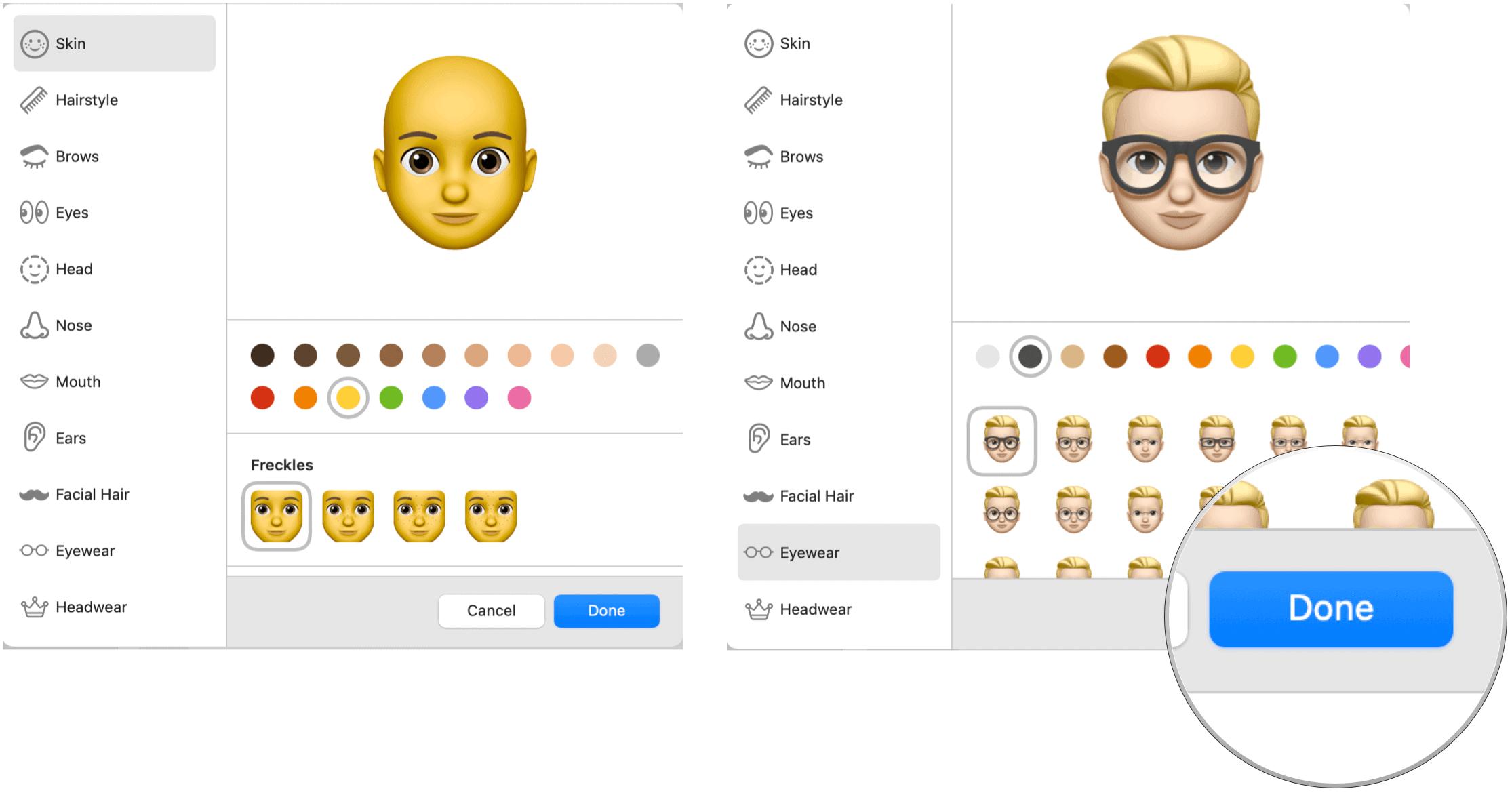 Final creating Memoji