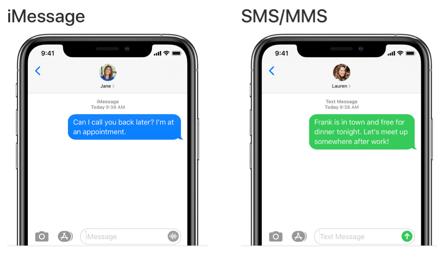 Messages in macOS Big Sur iMessage vs SMS