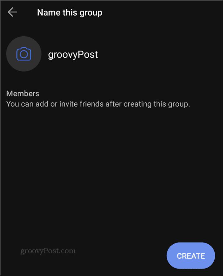 WhatsApp to Signal Groups name