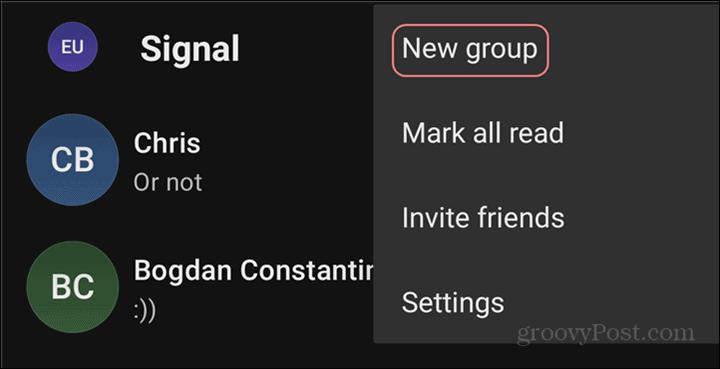 WhatsApp to Signal Groups new
