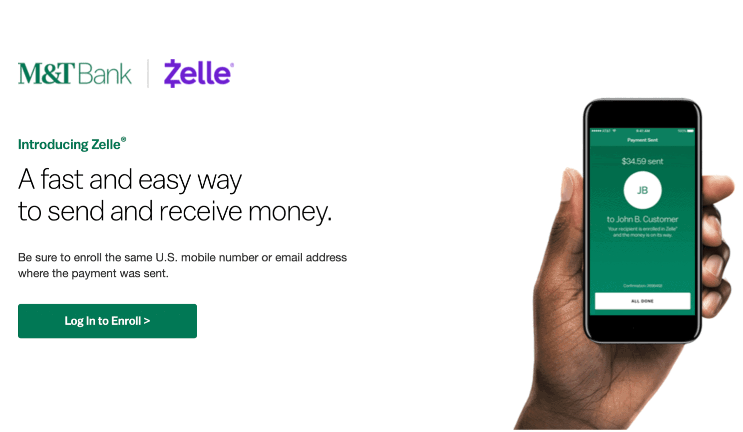 Send Money With Zelle Getting started