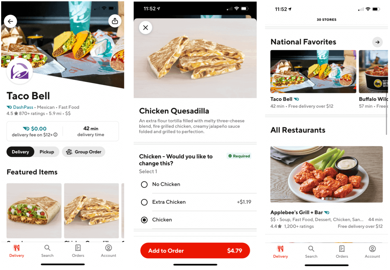 Best Food Delivery Apps DoorDash