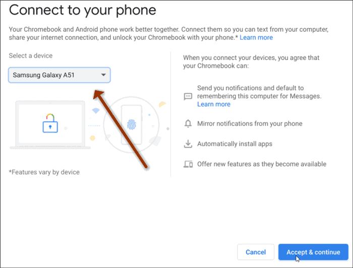choose phone