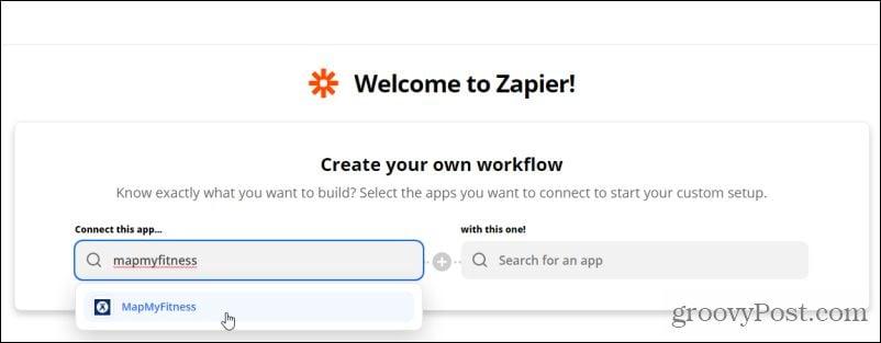 zapier app search