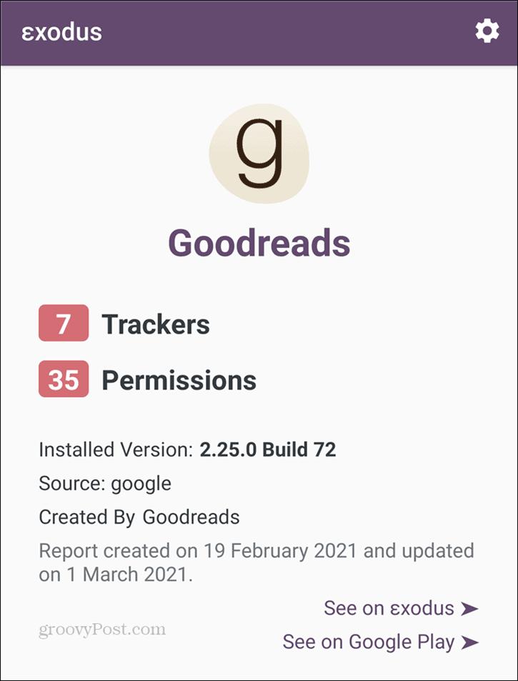 Exodus Goodreads