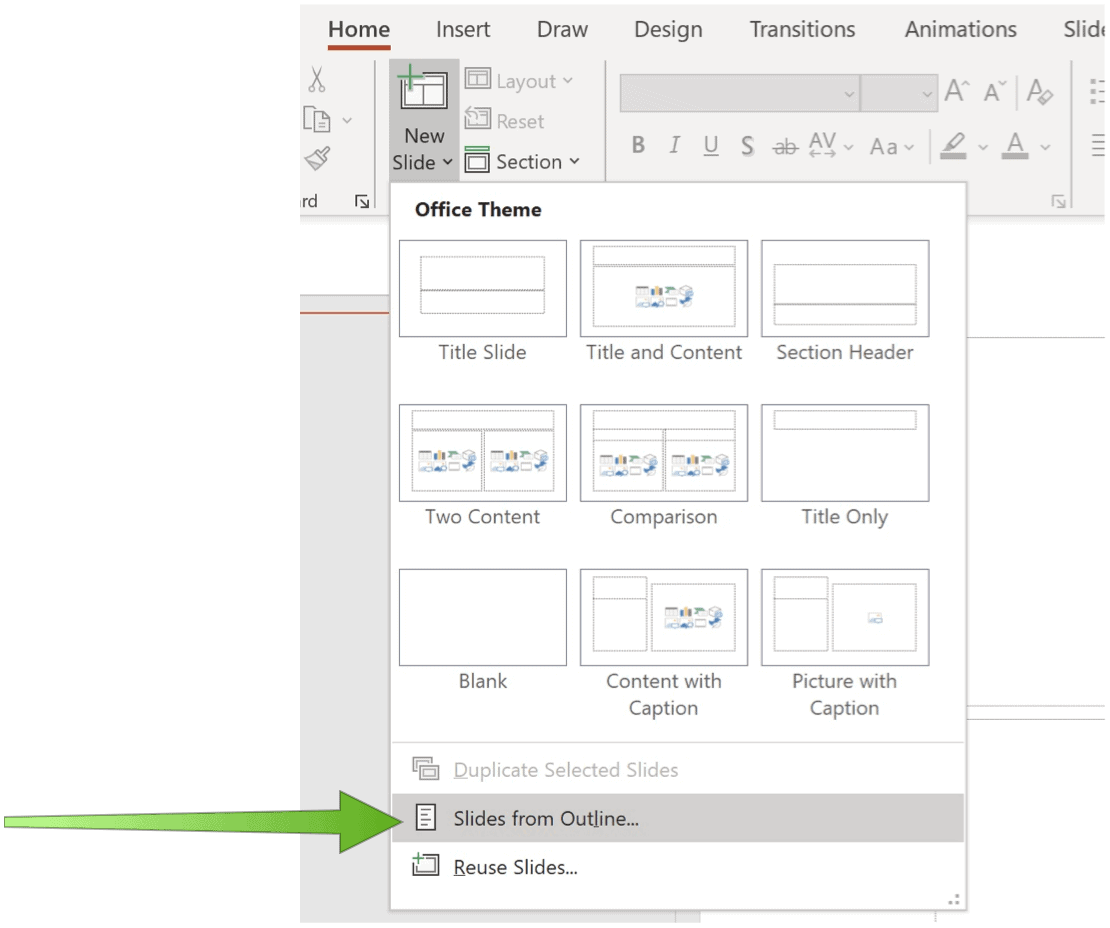 Convert a Word Document to a PowerPoint Presentation PowerPoint