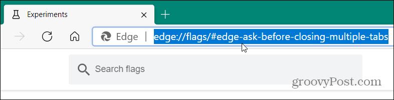 Flag URL Edge