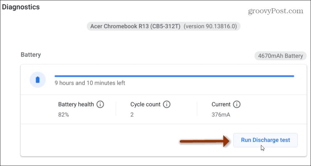 battery test chromebook