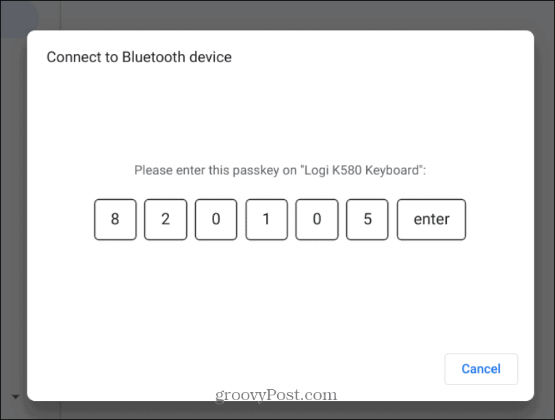 bluetooth code keyboard