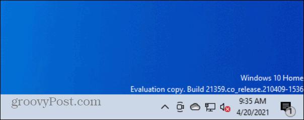 no icon example