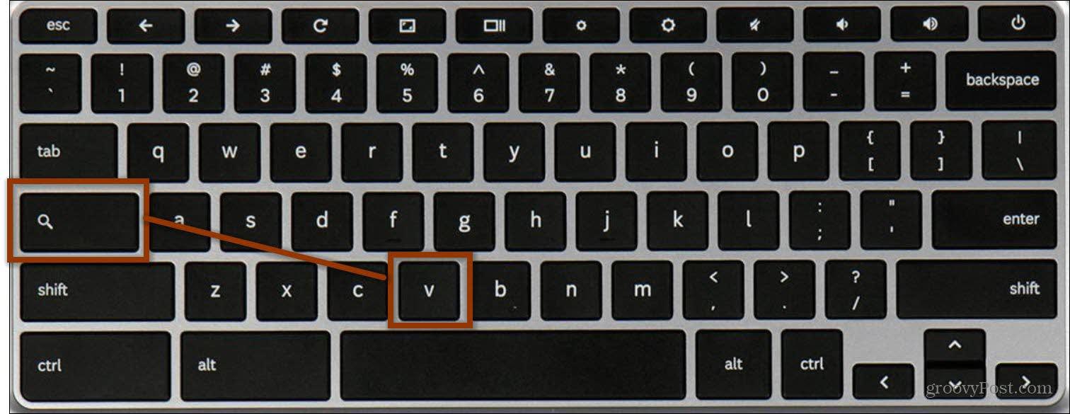 chromebook keyboard shortcut clipboard manager