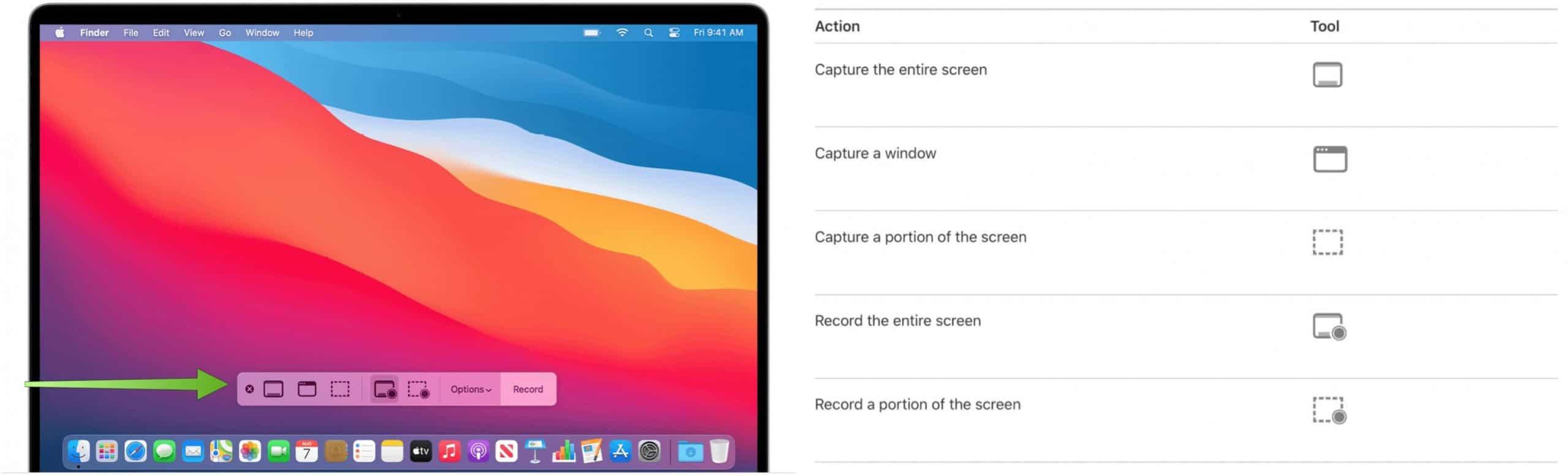 Mac Screenshot tool