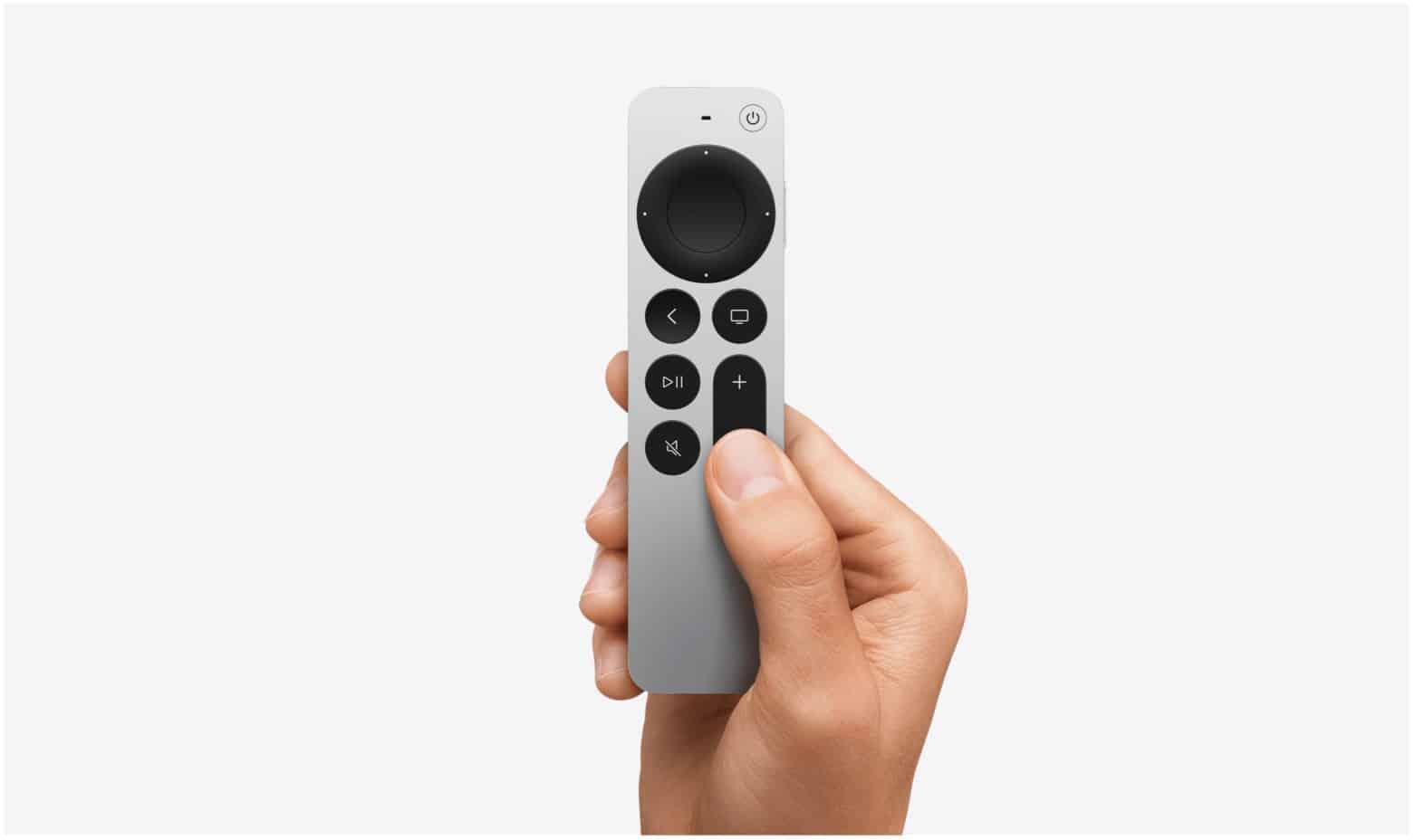 New Apple TV remote
