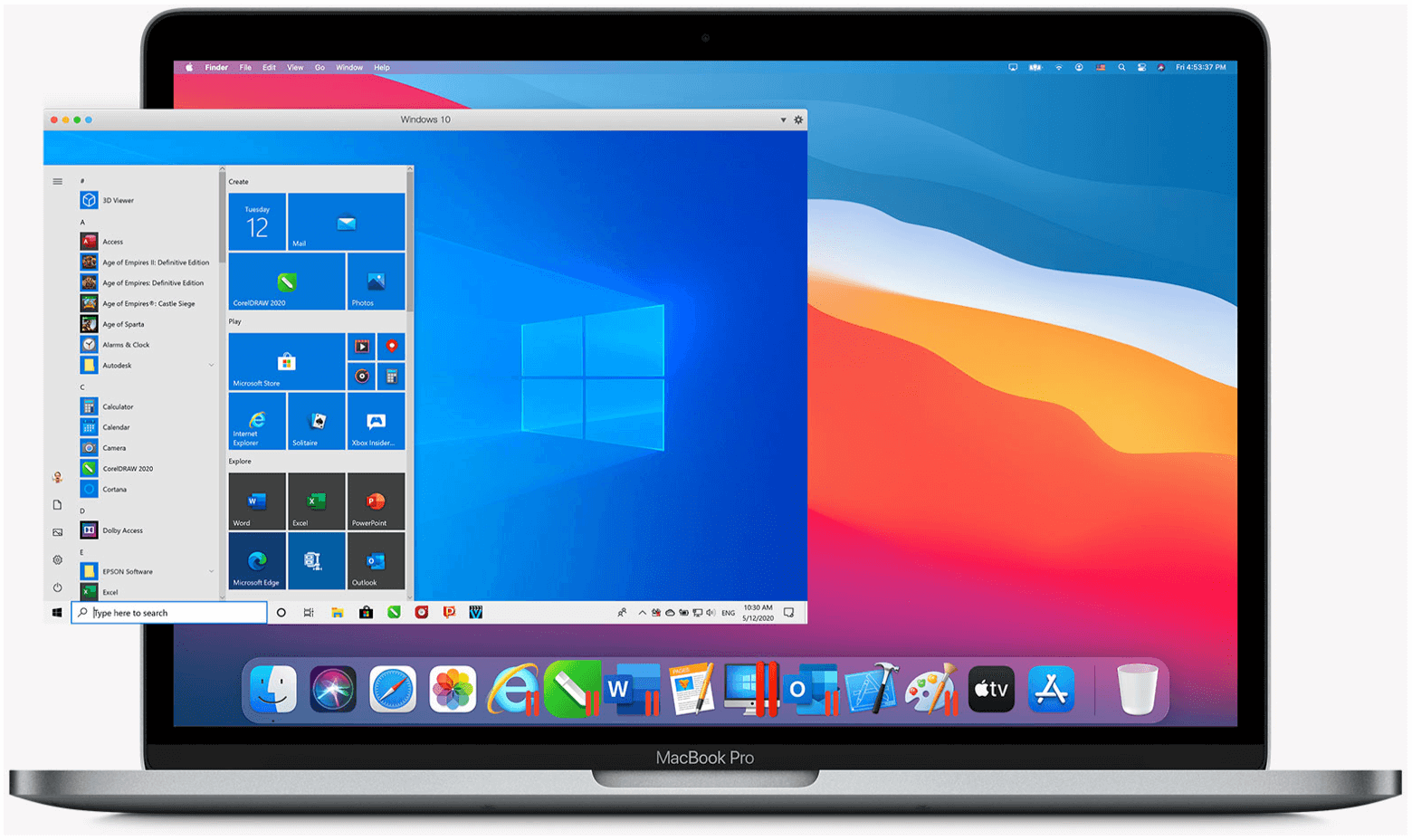 Windows 10 on M1 Macs Parallels Desktop 16 for Mac
