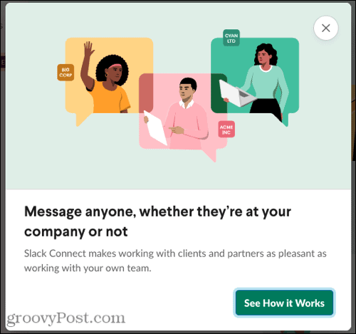 How Slack Connect works