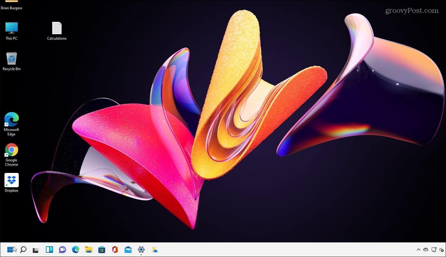 New background windows 11