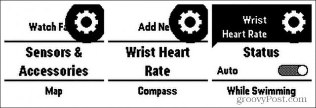enable heart rate