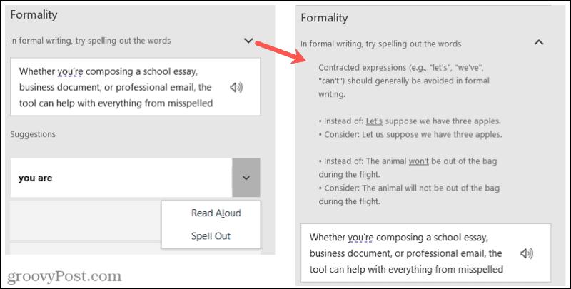 Microsoft Editor details