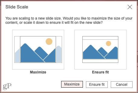 Pick Maximize or Ensure Fit