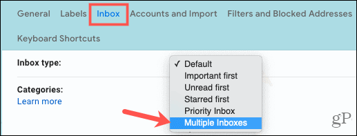 Select Multiple Inboxes