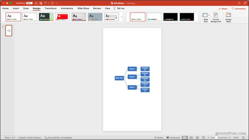 Portrait Slide Orientation in PowerPoint on Mac