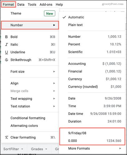 Reuse custom number formats in Google Sheets