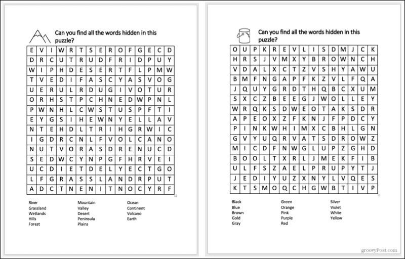 Word Finders