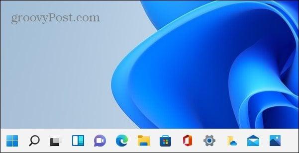 apps pinned to Windows 11 Taskbar