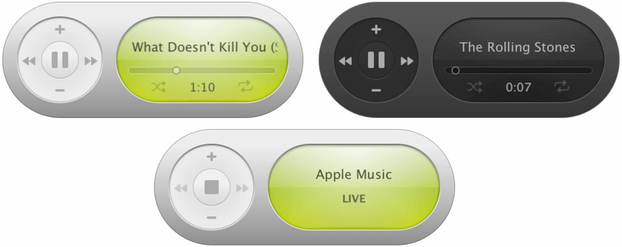 iTunes widget
