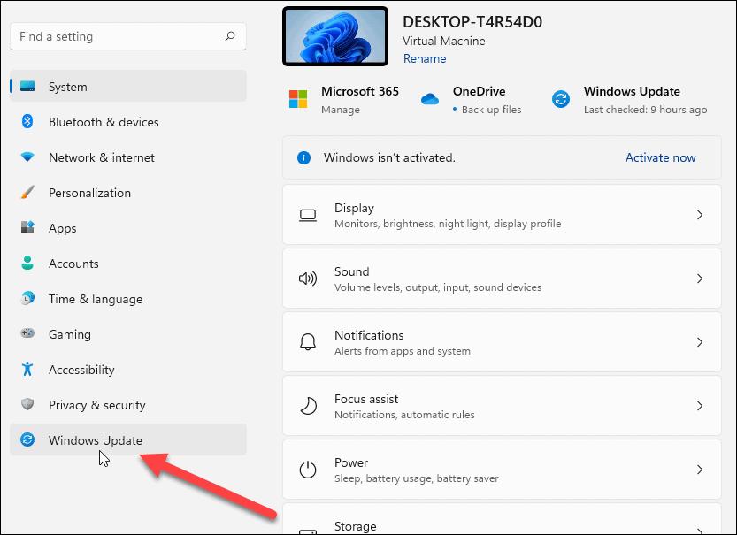 Settings-Windows-Update