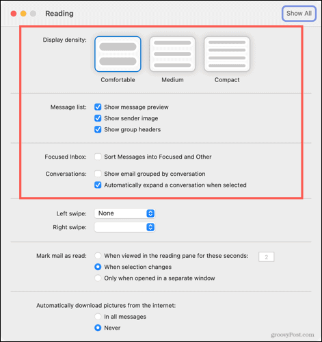 Personalize your Outlook Inbox