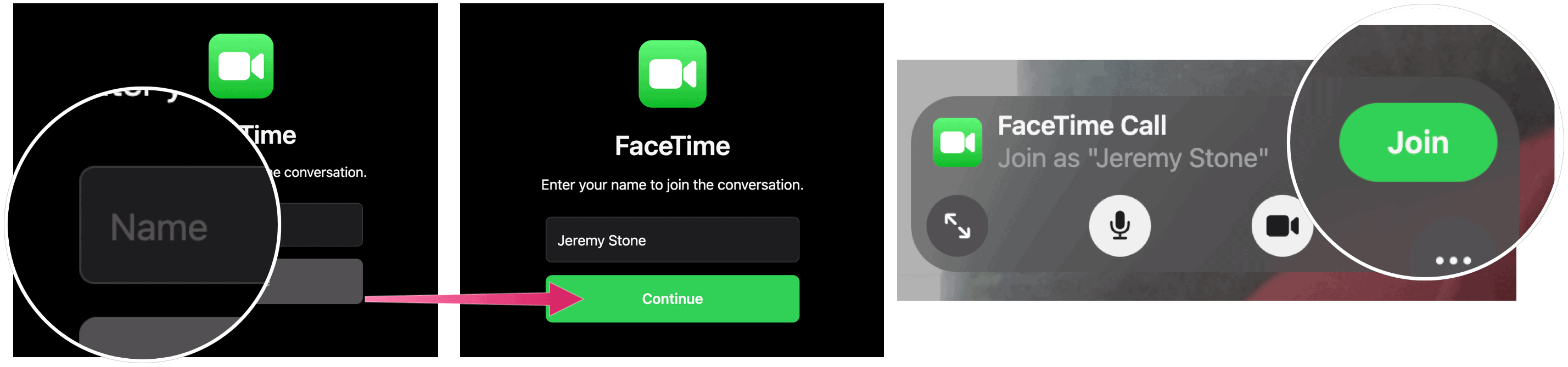 Join FaceTime group