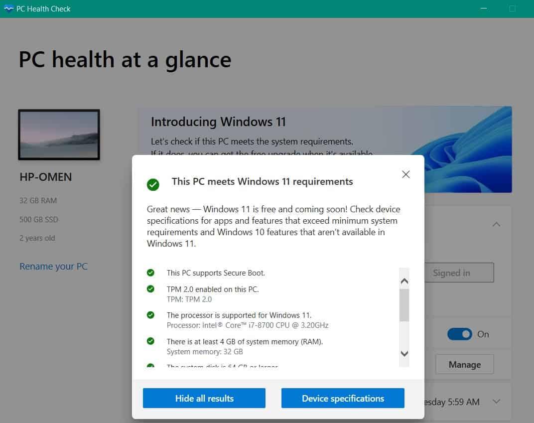 pc-health-check-app