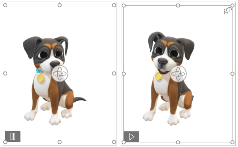 Animated 3D models in Microsoft Office