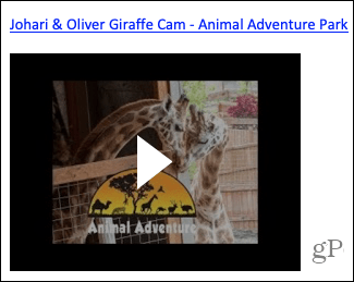 Video in OneNote for Mac