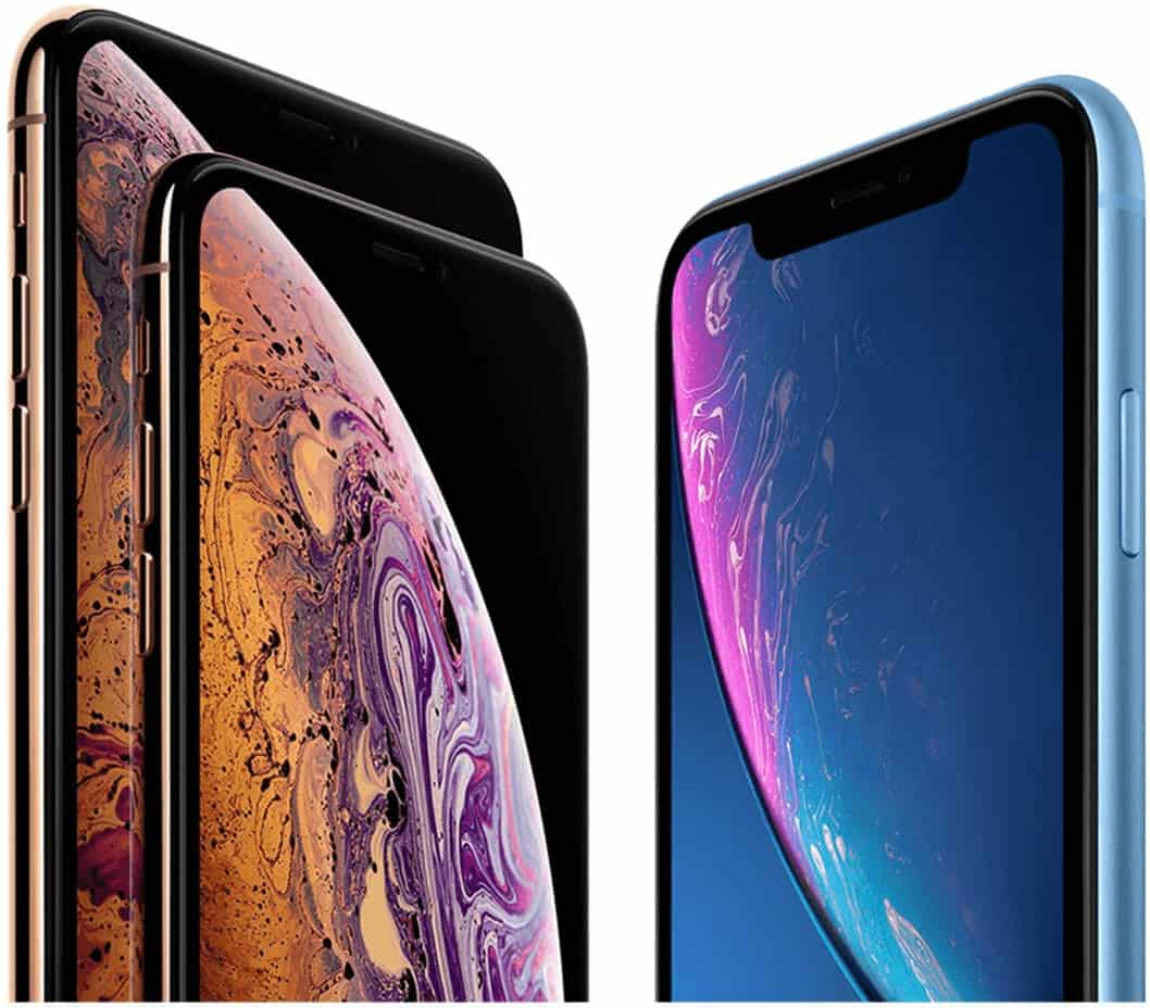 iPhone XS and iPhone XR