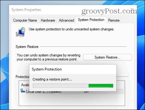 progress bar windows 11